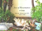 Joy of resonance 鉱物展 2019/6/5-9